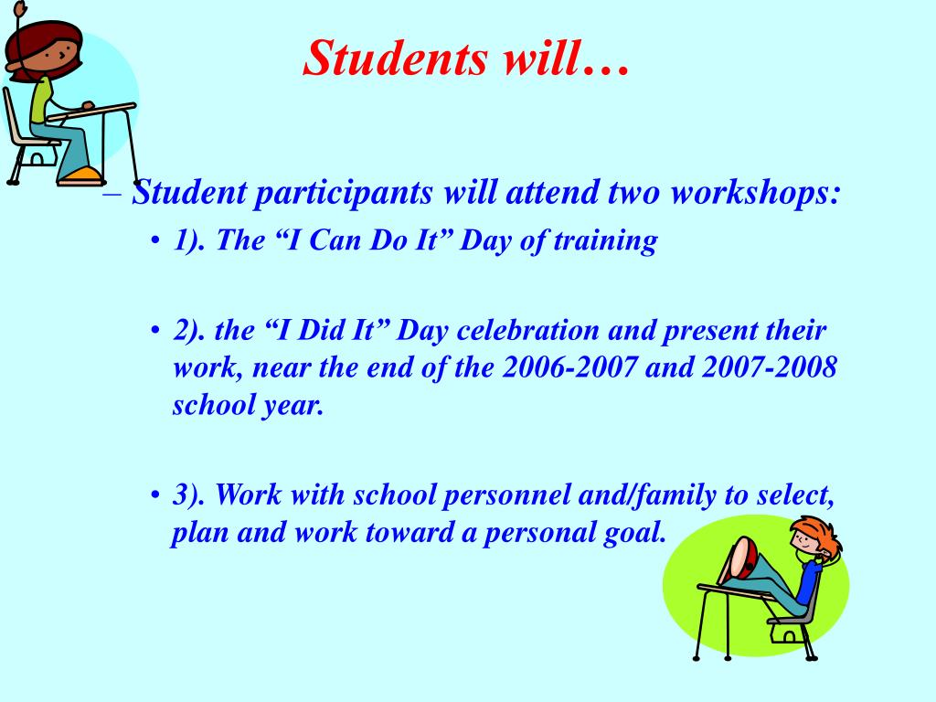 Students will…