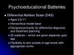 psychoeducational batteries12