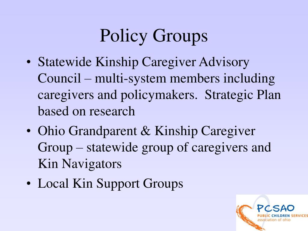 Policy Groups