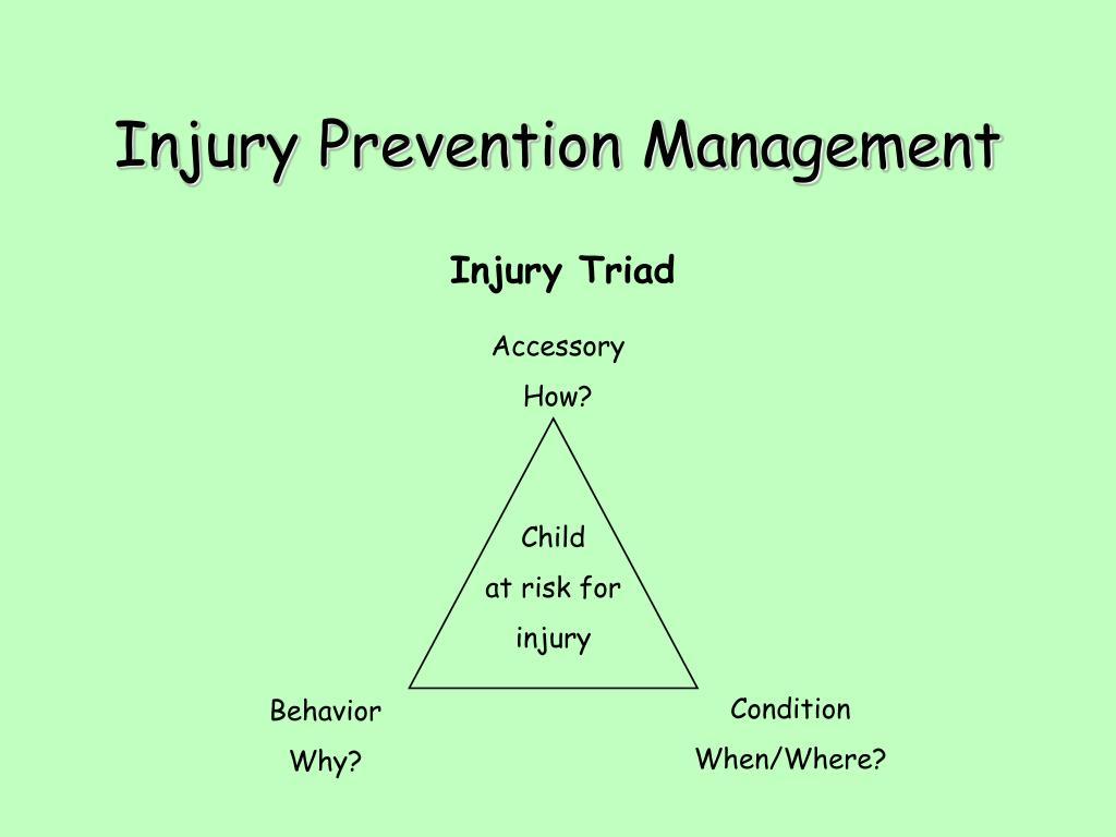 Injury Prevention Management