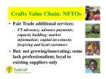 crafts value chain nftos