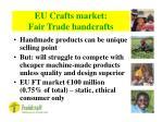 eu crafts market fair trade handcrafts