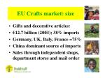 eu crafts market size
