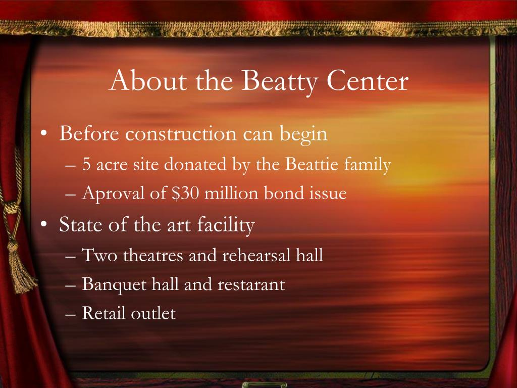 About the Beatty Center