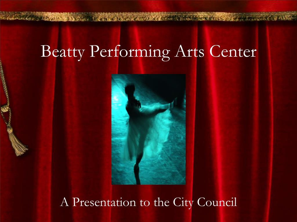 beatty performing arts center l.