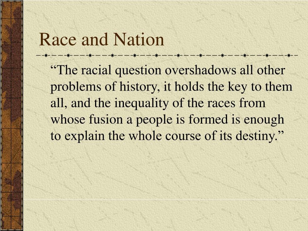 gobineau essay on the inequality of races