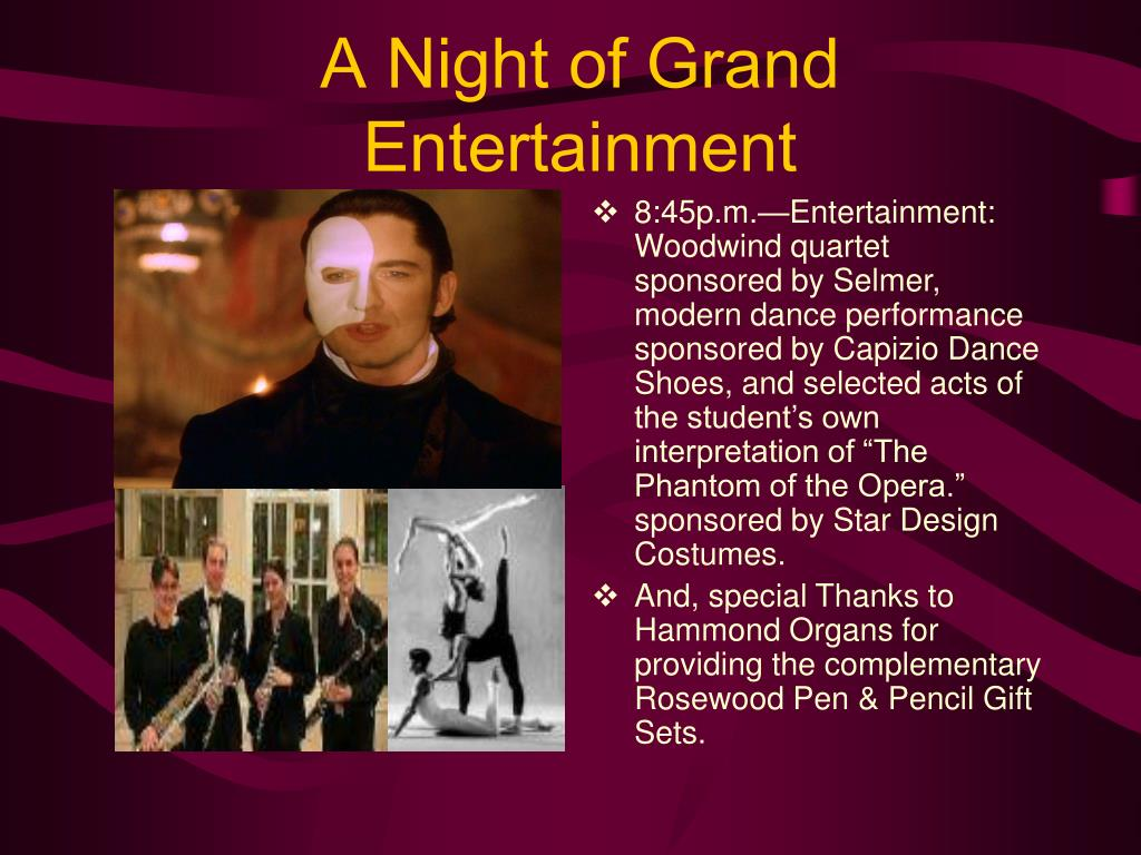 A Night of Grand Entertainment