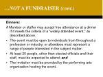not a fundraiser cont19