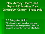 new jersey health and physical education core curriculum content standards4