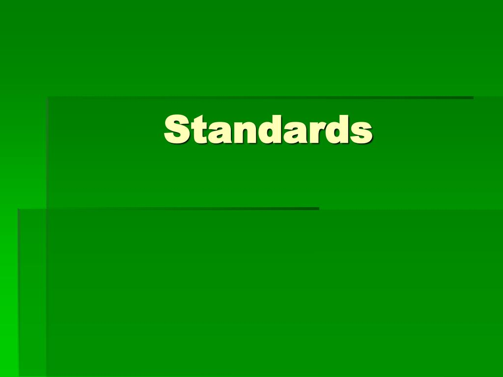standards l.