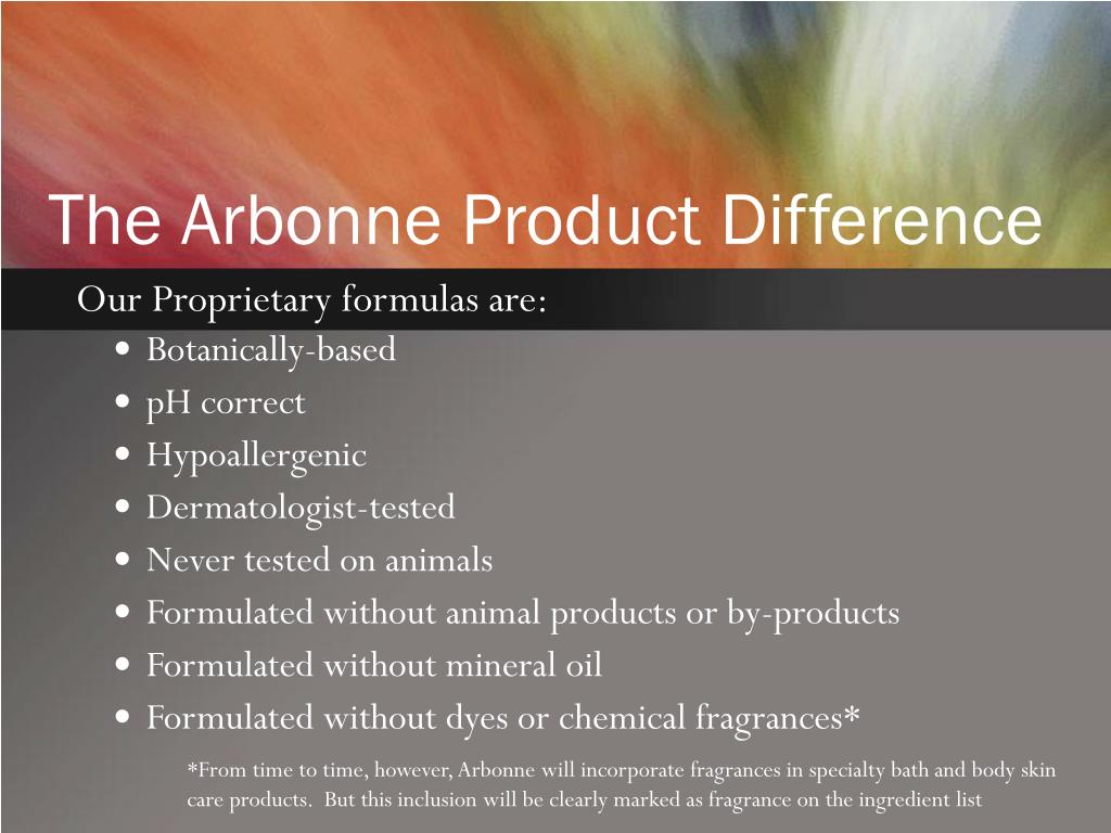 PPT - Arbonne PowerPoint Presentation - ID:727