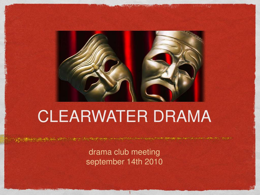 clearwater drama l.