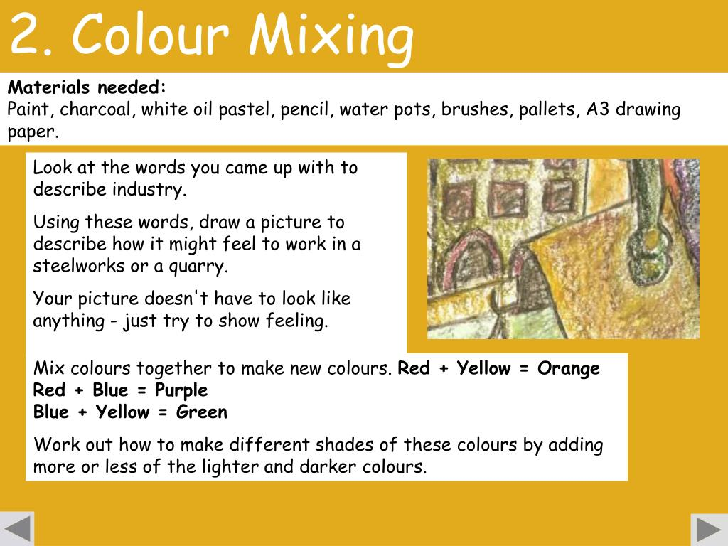 2. Colour Mixing