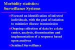 morbidity statistics surveillance systems