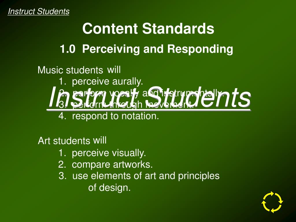 Instruct Students