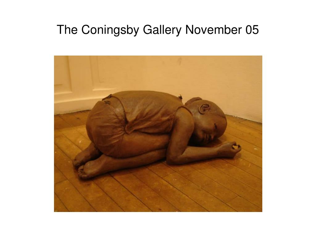 The Coningsby Gallery November 05