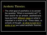 aesthetic theories24