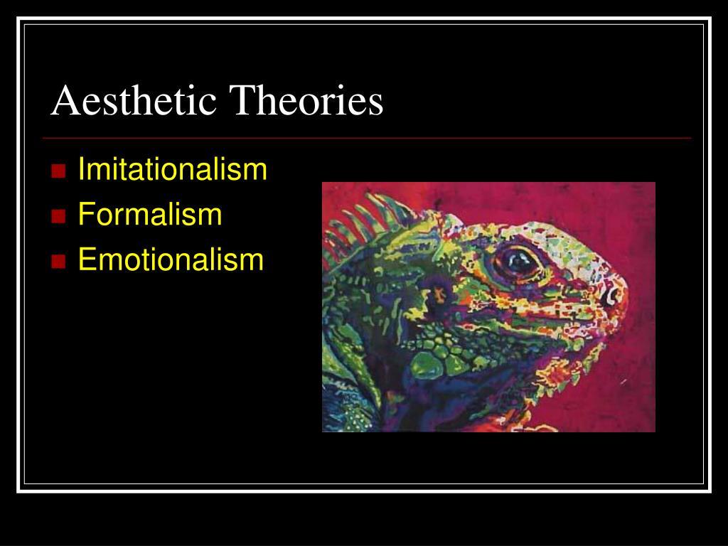 Aesthetic Theories
