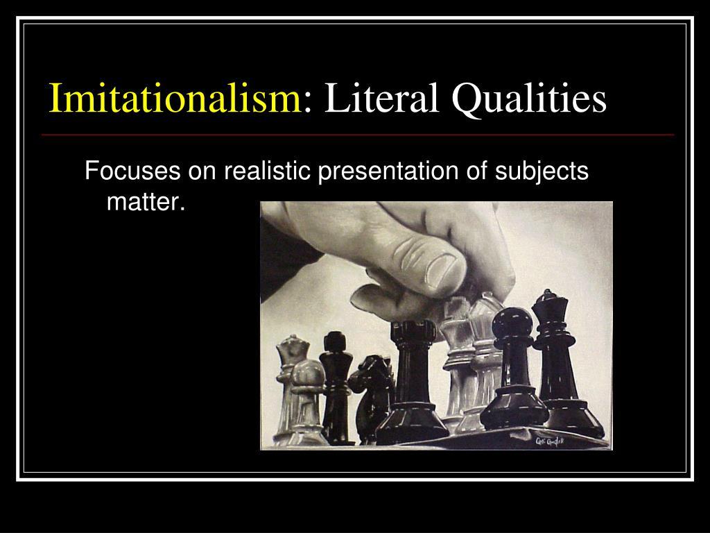 Imitationalism
