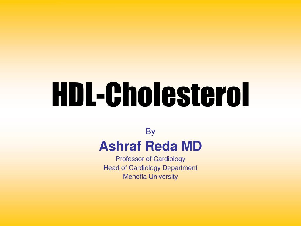 hdl cholesterol l.