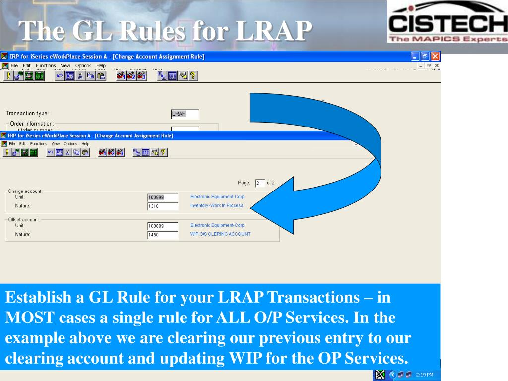 The GL Rules for LRAP