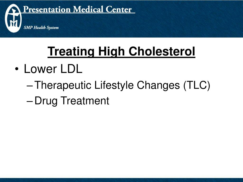 Treating High Cholesterol