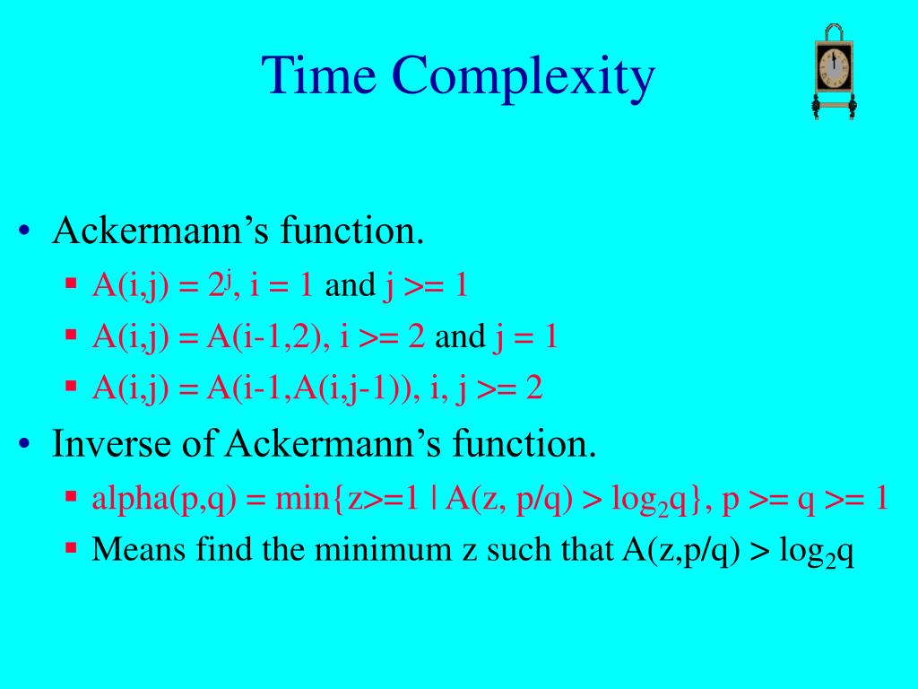 Time Complexity