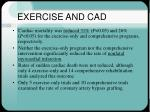exercise and cad32