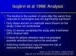 isoj rvi et al 1998 analysis