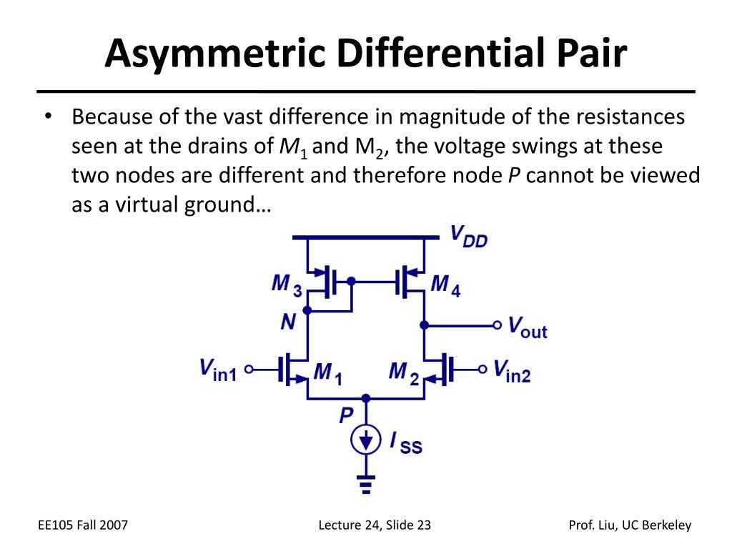 Asymmetric Differential Pair