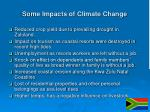 some impacts of climate change