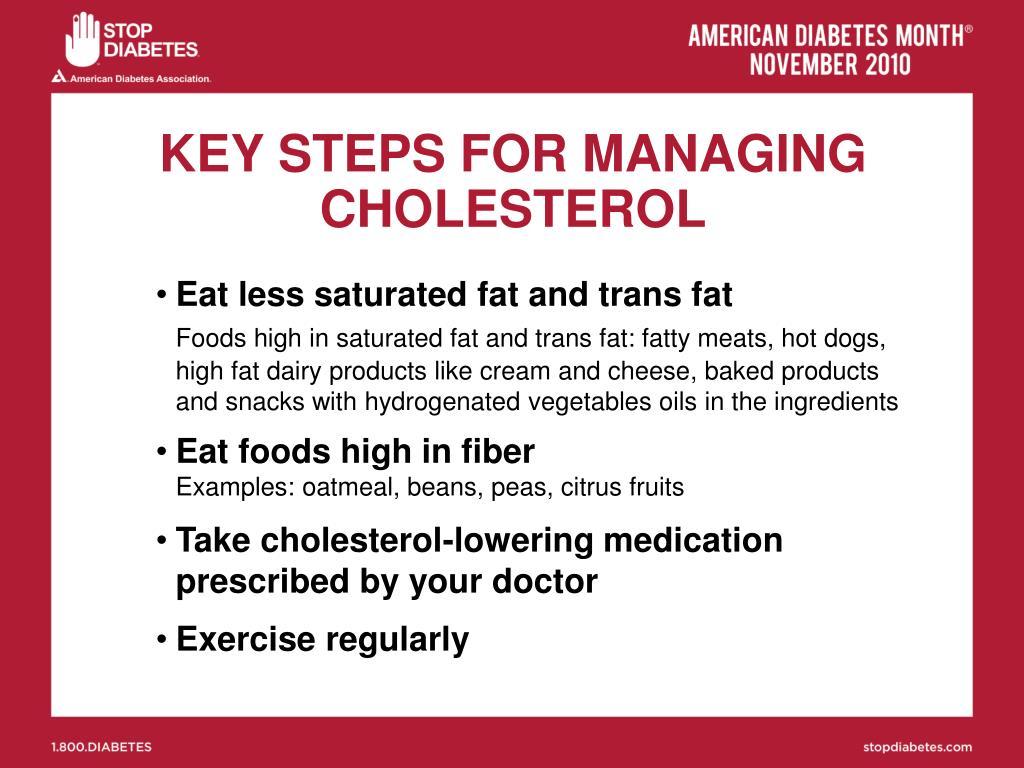 KEY STEPS FOR MANAGING