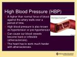 high blood pressure hbp