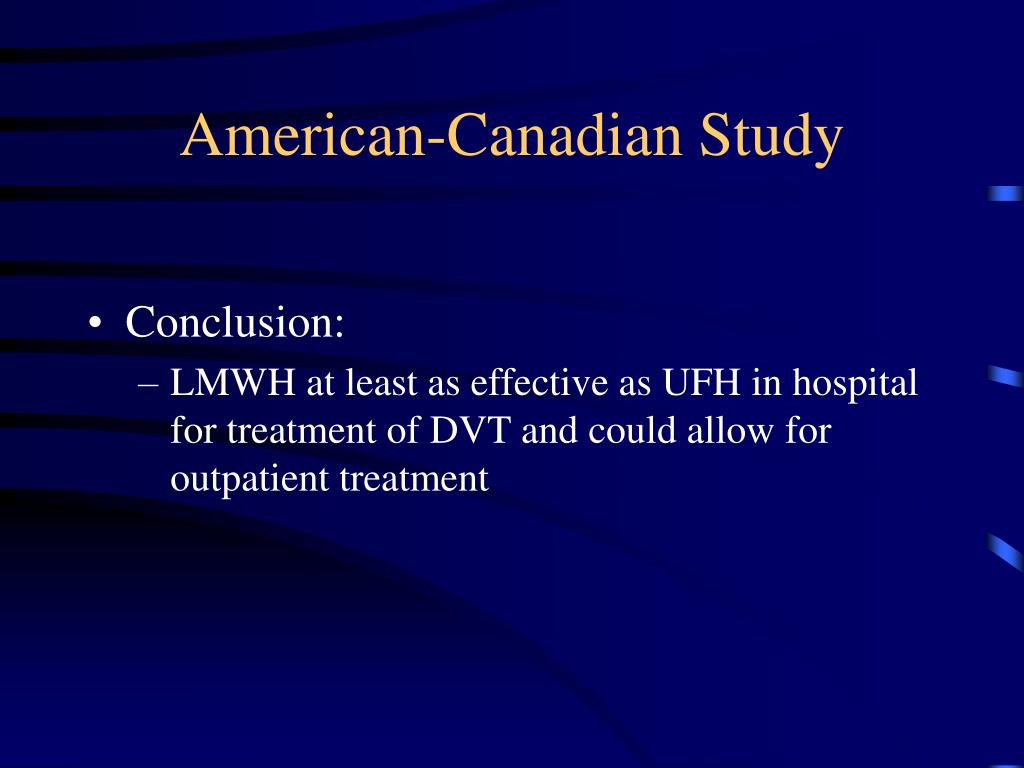 American-Canadian Study