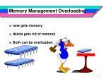 memory management overloading
