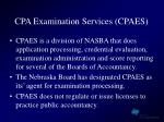 cpa examination services cpaes