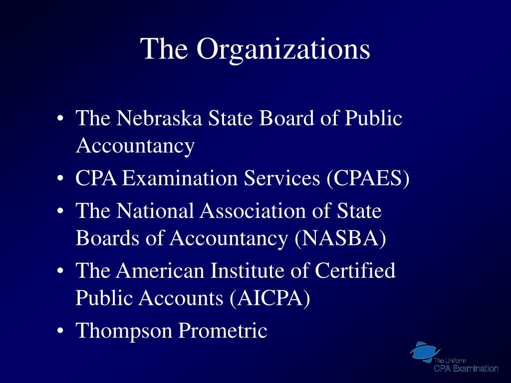 The Organizations