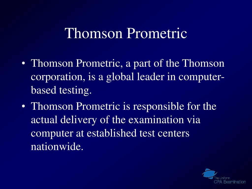 Thomson Prometric