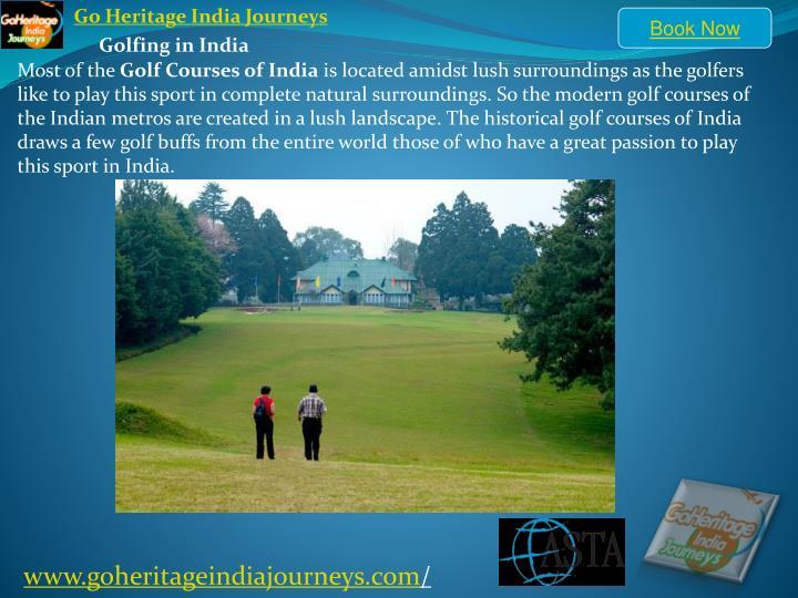 Go Heritage India Journeys