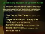 vocabulary support in content areas27