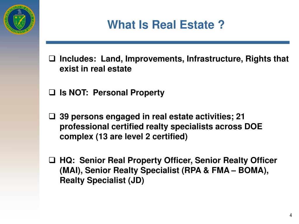 What Is Real Estate ?