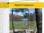 nature s classroom