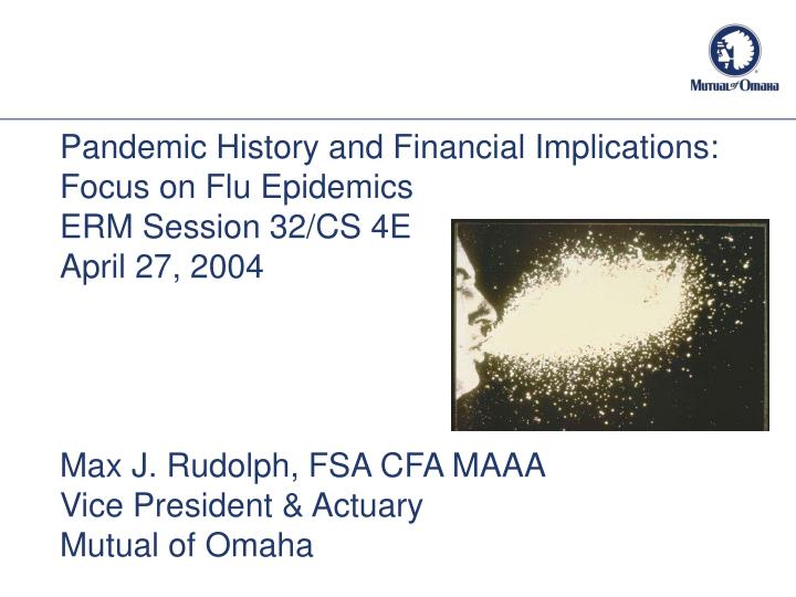 influenza pandemic and its implications to Is to provide an overview of the influenza pandemic of 1918 in the united states, its economic effects, and its implications for a modern-day pandemic the paper .