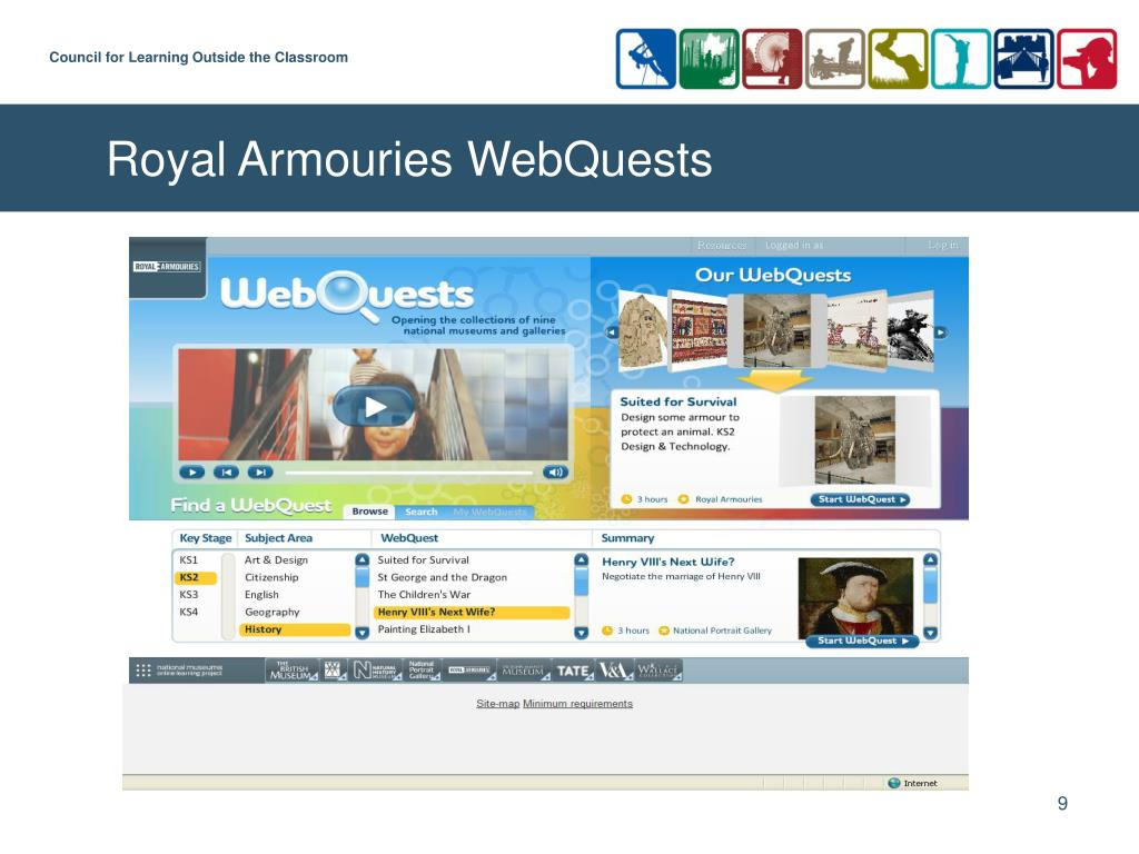 Royal Armouries WebQuests