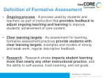 definition of formative assessment