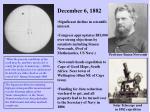 december 6 1882