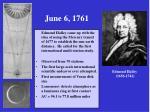 june 6 1761