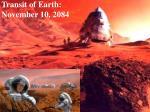transit of earth november 10 2084