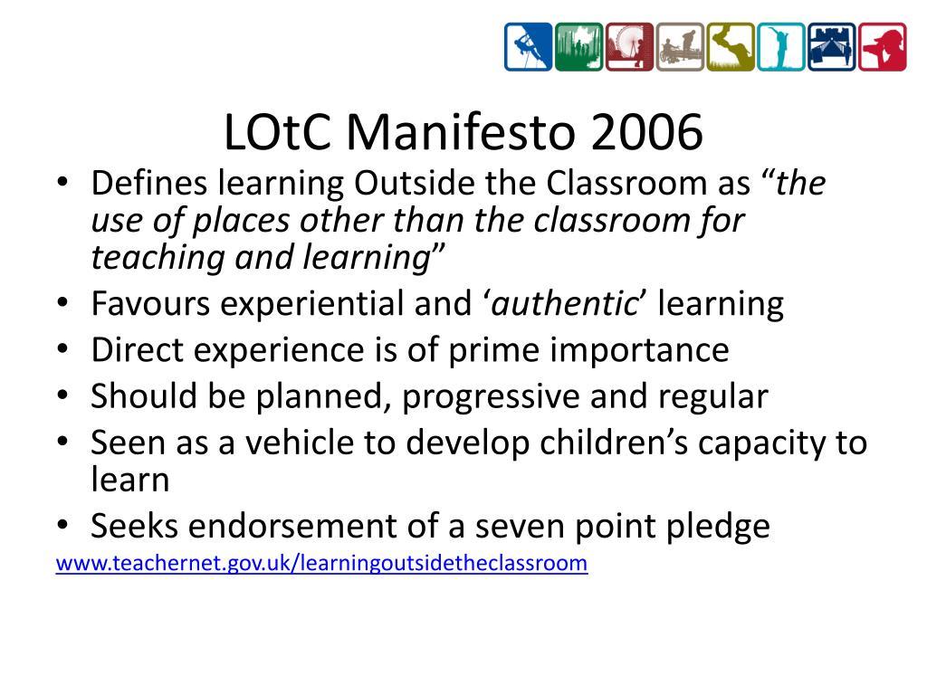 LOtC Manifesto 2006