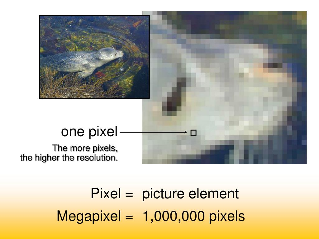 one pixel